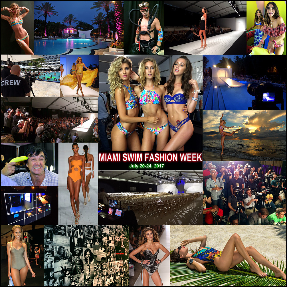 Check Runway Photos and Backatage images from Miami Swim Fashion Weeks