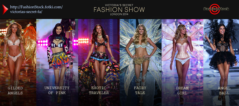 Check Runway Photos and Backatage images from Victoria's Secret Fashion Show 2014  - London 2014