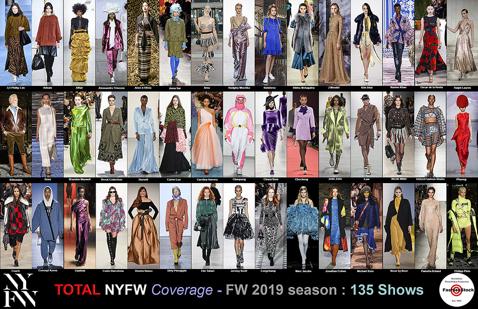 Check Runway Photos and Backatage images from New York Fashion Weeks