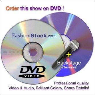 Order Fashion movies on DVD - runway videos from NY Milan Miami Paris fashion weeks, dvd video